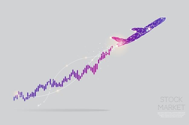 Частицы, геометрическое искусство, линия и точка концепции граф акций.