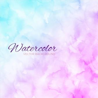 Акварель синий и фиолетовый фон