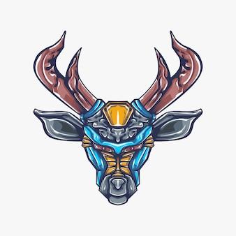 Иллюстрация иллюстрации северного оленя