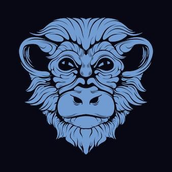 Искусство обезьяны