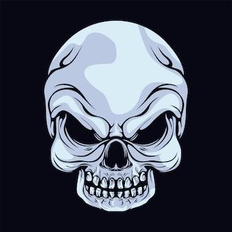 Голова черепа
