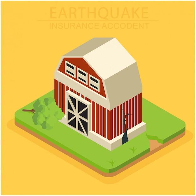 住宅への被害に対する等尺性保険の概念