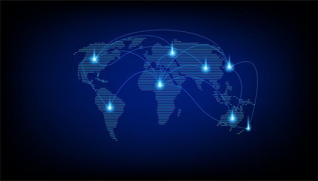 Карта цифрового мира