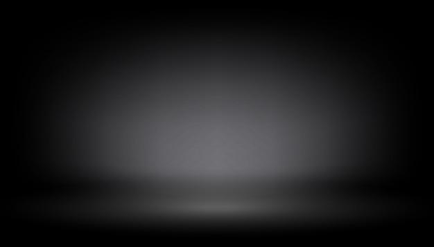 透明グローライト効果黒の背景
