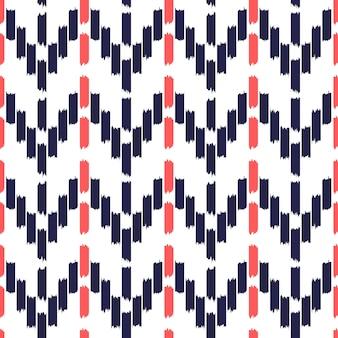 イカットシームレスパターンデザイン