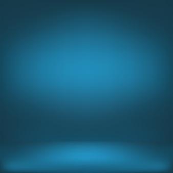 ブルーグラデーションの抽象的な背景
