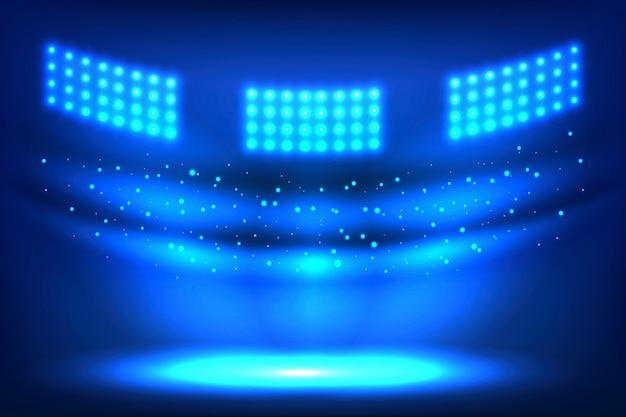 Стадион арены огни
