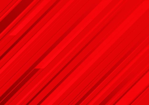 赤のストライプと抽象的な赤の背景。
