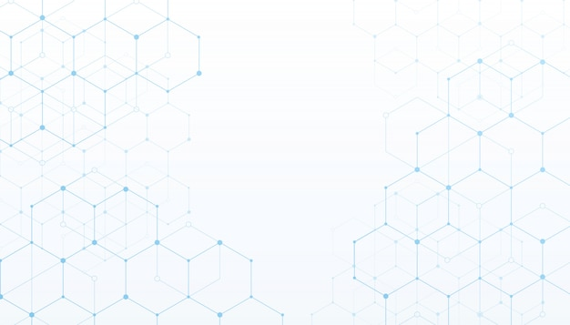 技術接続デジタルデータの白い背景。