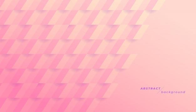 抽象的なピンクの幾何学的