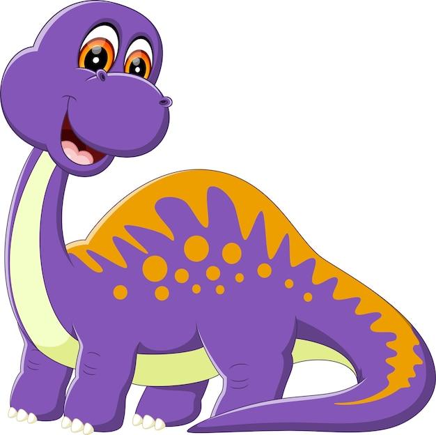 Симпатичный динозавр