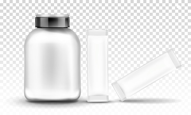 スポーツ栄養、サプリメント容器包装