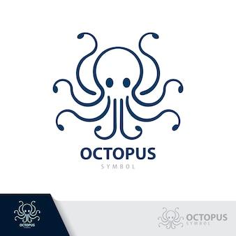 Значок символа осьминога