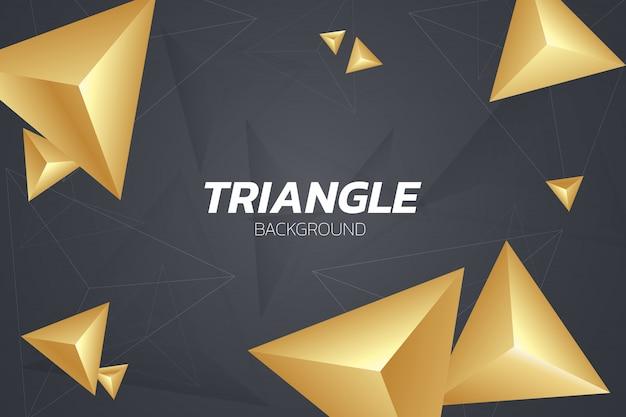 Фон абстрактный треугольников
