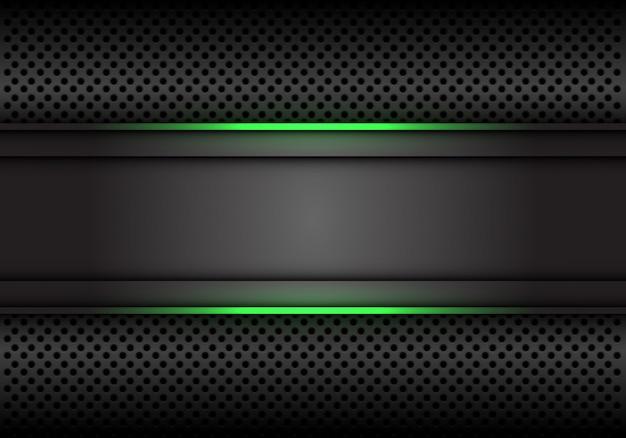Зеленая светлая линия темно-серый фон