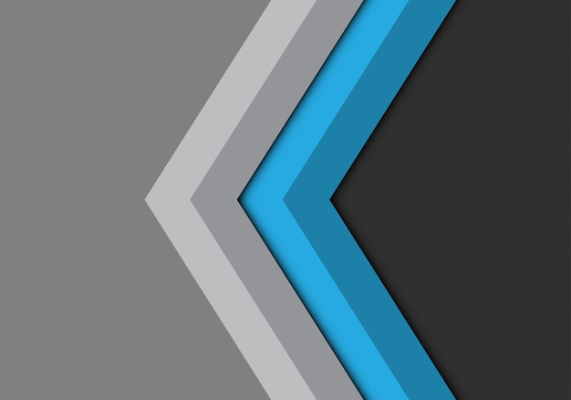 青灰色の矢印方向の背景。