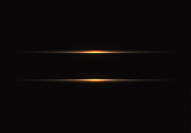 黒地に金の光のライン。