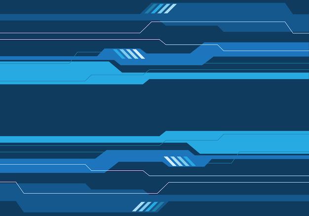 Синие тона цепи, футуристический фон современные технологии