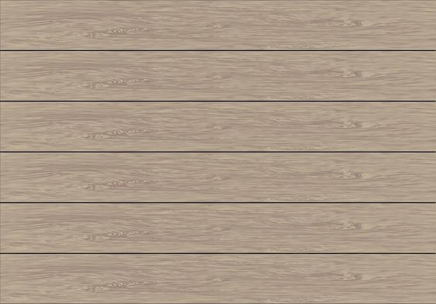 現実的な柔らかい茶色の木の板のパターン。