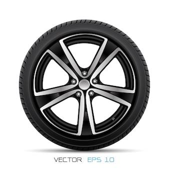 タイヤスタイルのレーシングと現実的な合金の車輪