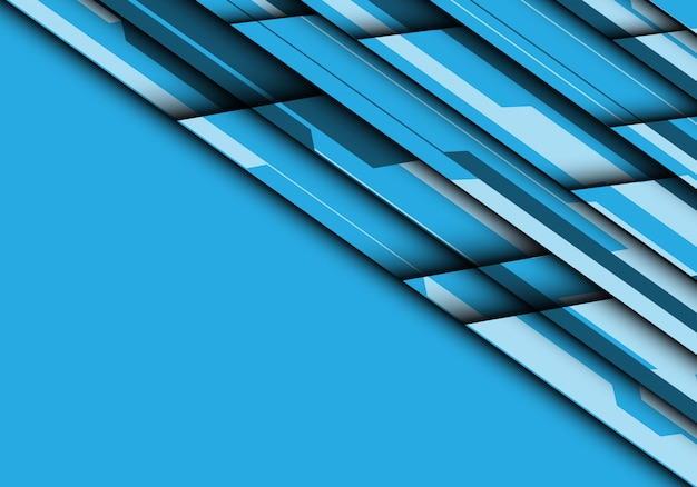Голубой тон футуристический с предпосылкой пустого пространства.