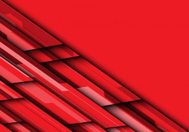 Красный тон футуристический с предпосылкой пустого пространства.
