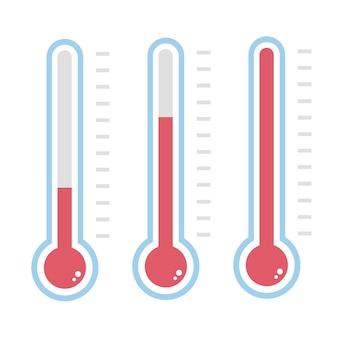温度計アイコン。