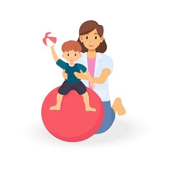 子どもの発達スクリーニングのための作業療法治療セッション