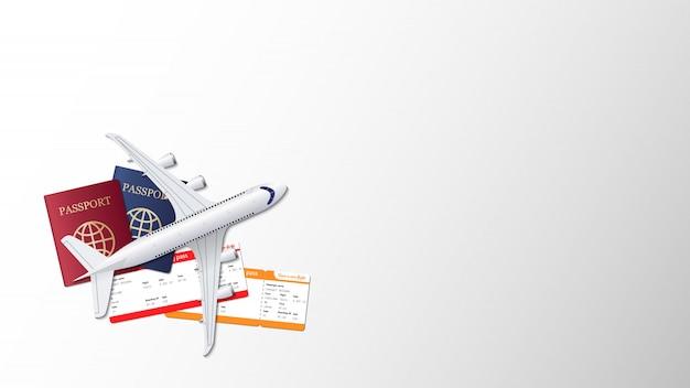 旅行背景コンセプトデザイン