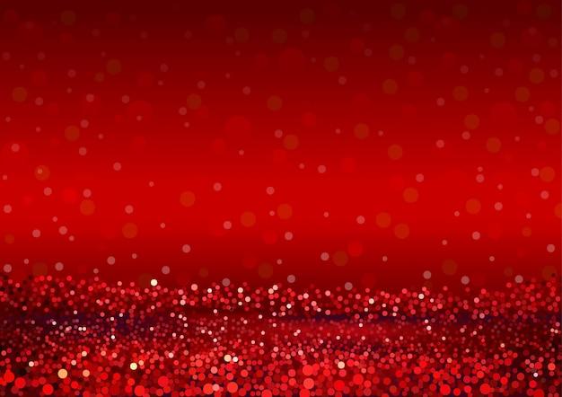 抽象的な赤いキラキラ背景