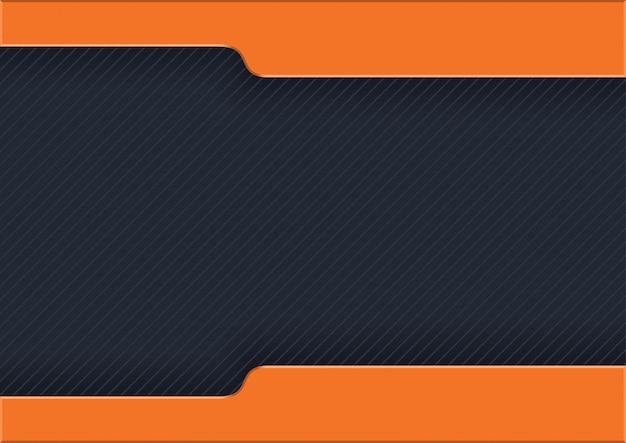オレンジ色の縞模様の暗い縞模様の背景