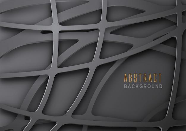 Абстрактный темный металлический фон сетки