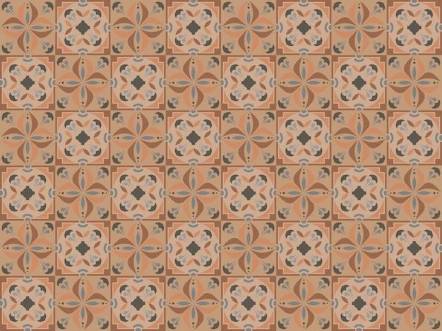 Декоративные керамические бесшовные плитки