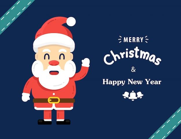 Счастливого рождества каллиграфические надписи дизайн. творческая типография для праздничного приветствия.