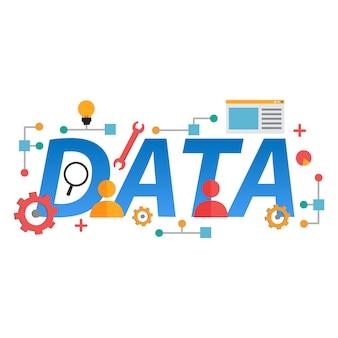 ビジネスグラフ統計、ビッグデータ分析、財務調査報告書、市場統計のデザイン