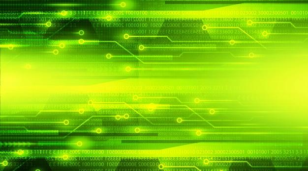 Цифровая зеленая технология фон