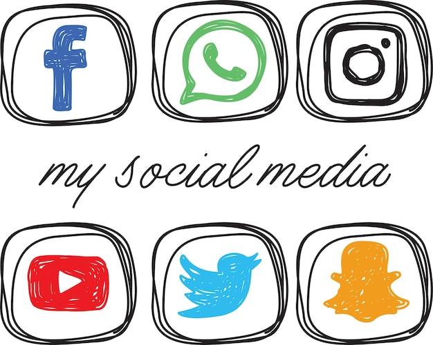 Значок в социальных сетях