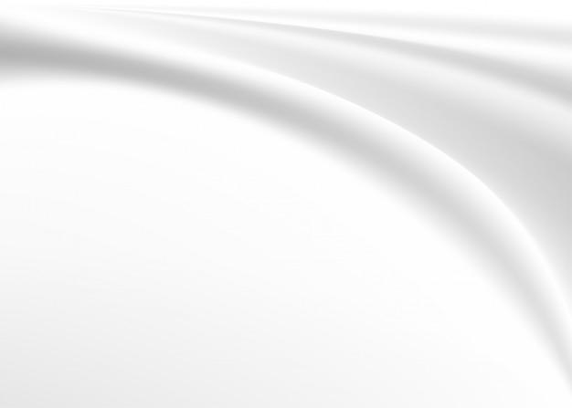 抽象的な白い布の背景をぼかし