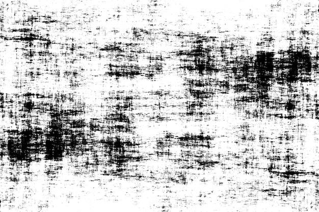 スポット、亀裂、ドット、チップの抽象的な白黒パターン。