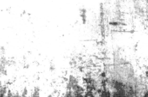 Абстрактная волна полутоновых точек пунктирная текстура фон