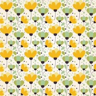 夏の花のパターン