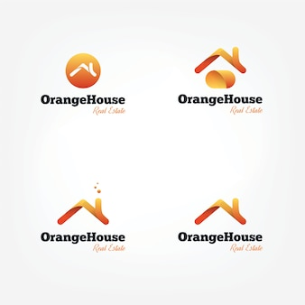 Векторные крыши домов