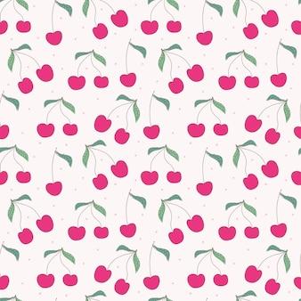 桜のシームレスなパターン背景。