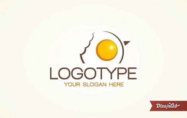 ロゴの卵のロゴ