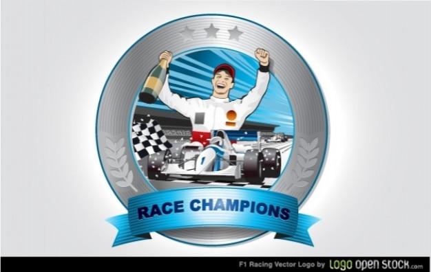 ロゴ勝者レースチャンピオン
