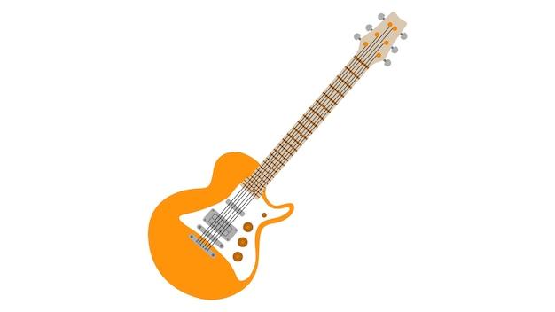 エレクトリックギター、イラスト、ベクトル、イラスト