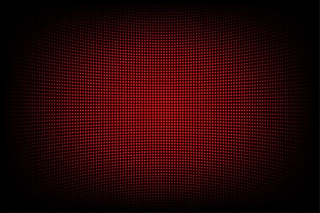 コンピューターグラフィックのウェブサイトのインターネットとビジネスのための赤の抽象的な技術の背景。濃い青の背景