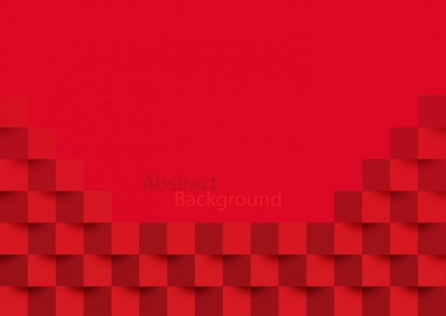 Красная абстрактная текстура.