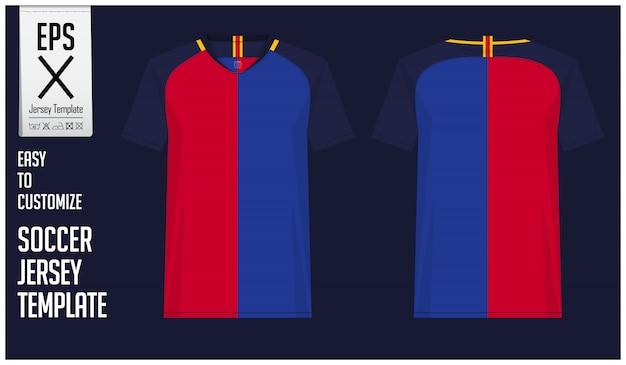 Минимальный дизайн футболки или футбольного комплекта