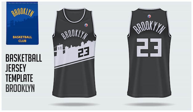 ブルックリンバスケットボールユニフォーム